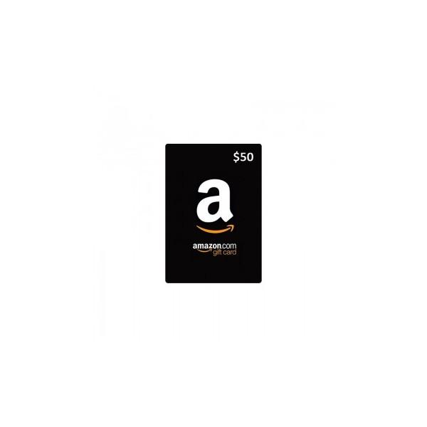 Amazon Gift Card 50$ - Cartes Cadeaux Maroc