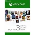 Xbox One Game Pass 3 Mois - Cartes Cadeaux Maroc