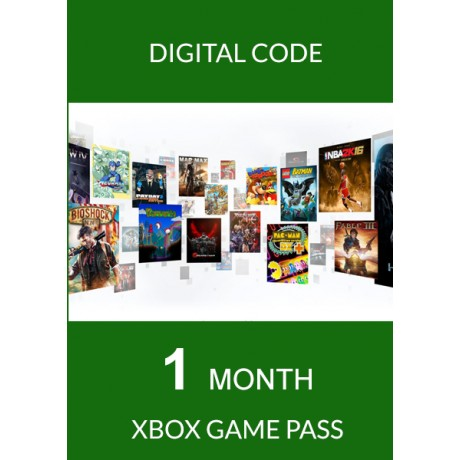 Xbox One Game Pass 1 Mois