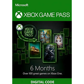 Xbox One Game Pass 6 Mois - Cartes Cadeaux Maroc
