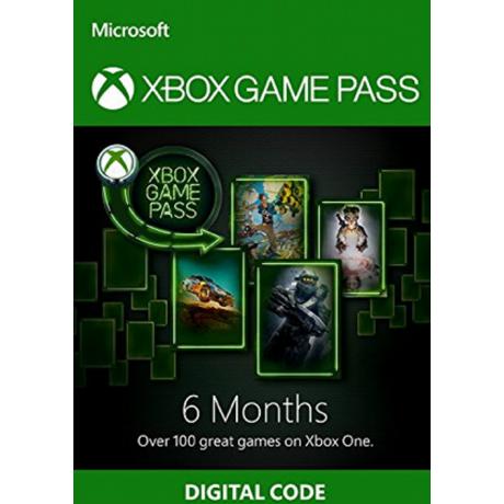 Xbox One Game Pass 6 Mois