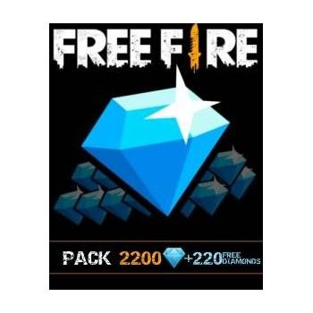 2200 Free Fire Diamonds + 220 Gratuit - Cartes Cadeaux Maroc