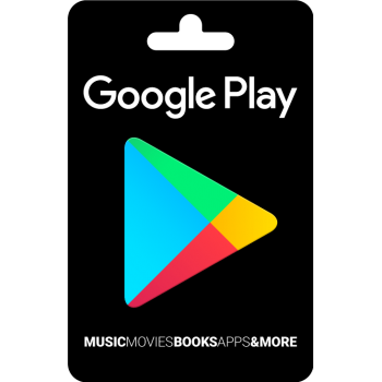 Carte Google Play 25$ - Cartes Cadeaux Maroc
