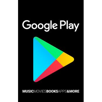 Carte Google Play 50$ - Cartes Cadeaux Maroc