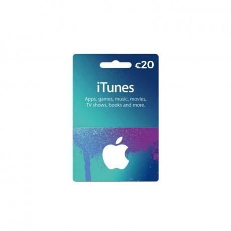 Carte Itunes App Store 20€