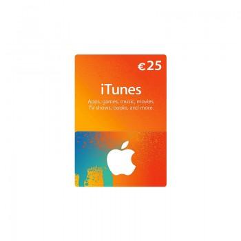 Carte Itunes App Store 25€ - Cartes Cadeaux Maroc