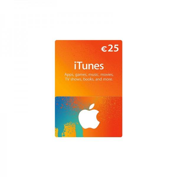 Carte Apple Store & Itunes 25€ - Cartes Cadeaux Maroc