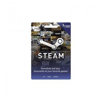 Carte Wallet Steam 100$ - Cartes Cadeaux Maroc