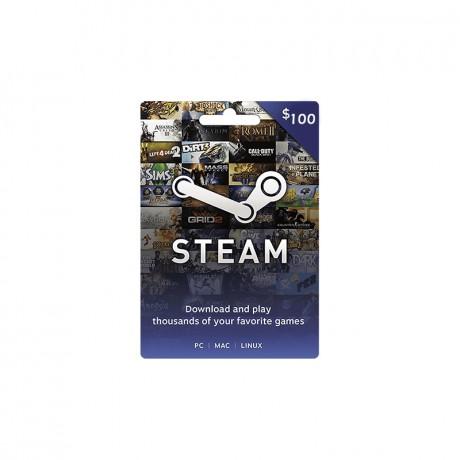 Gift Card Steam Wallet 100$