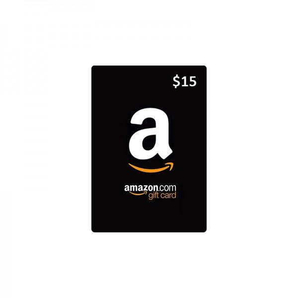 Amazon eGift Card 15$ - Cartes Cadeaux Maroc