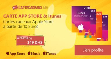 Carte Itunes Maroc - Apple Store Maroc
